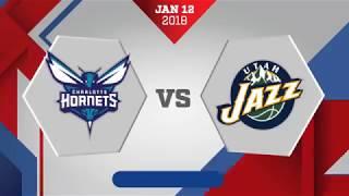 Utah Jazz vs. Charlotte Hornets - January 12, 2018