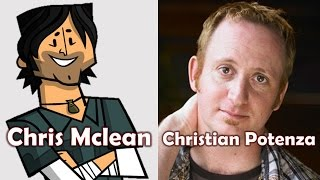 Characters and Voice Actors - Total Drama (First Cast)