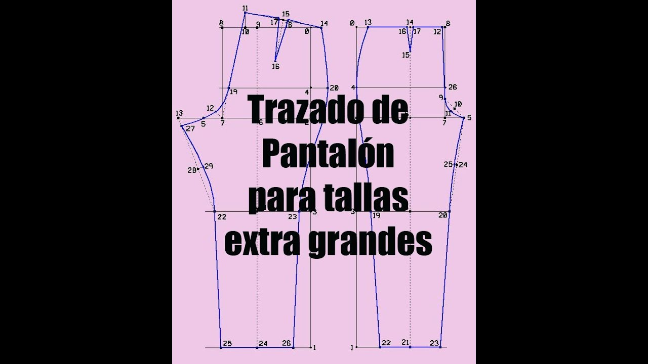 Pantalon Tallas Extra By Valery Prokoudine