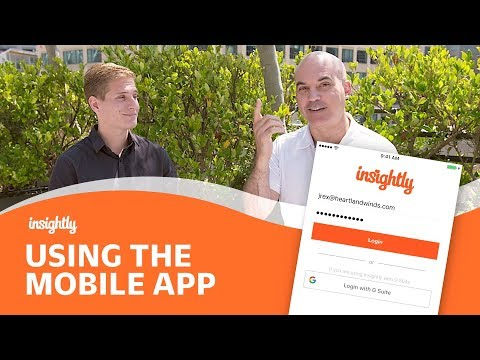 Tutorial: The Insightly Mobile App