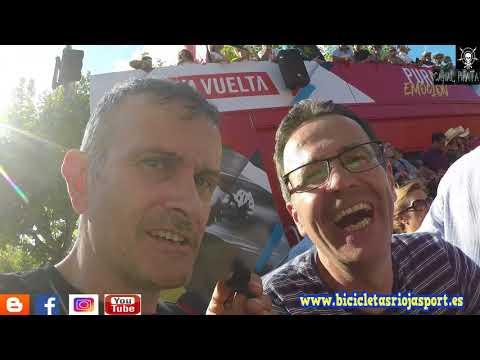 CANAL PIRATA RIOJA SPORT: Vuelta ciclista a España Llegada contrareloj Los Arcos Logroño
