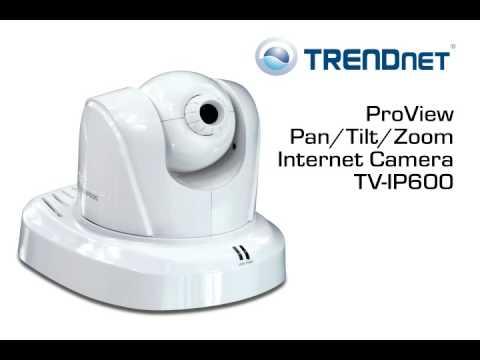 Trendnet Proview Pan Tilt Zoom Internet Camera Tv Ip600