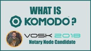 What is the Komodo Platform - BarterDEX Decentralized Exchange - VoskCoin 2018