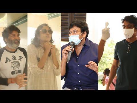 Chiranjeevi Meeting With Talasani Srinivas Yadav & TFI Celbrities   NTV ENT