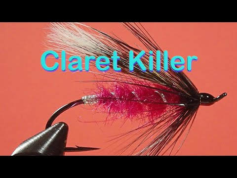 Beginner's Fly Tying Series: Easy Atlantic Salmon Patterns - The Claret Killer