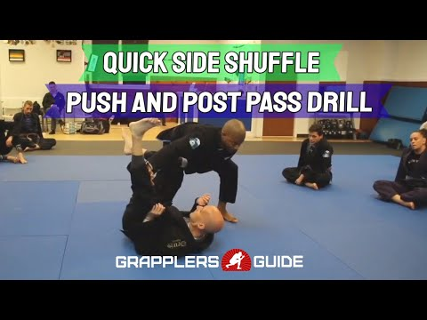 Trenton Cooke - Partner Drill - Quick Side Shuffle Push And Post