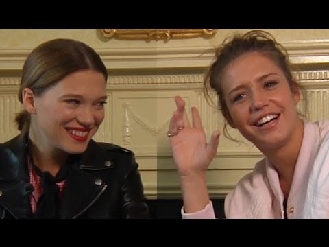 DP/30 @ TIFF '13: Léa Seydoux & Adèle Exarchopoulos in Blue Is The Warmest Color