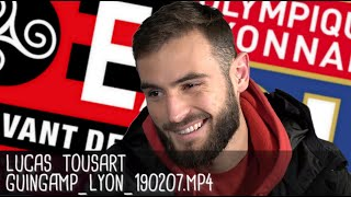 LUCAS TOUSART RÉAGIT APRÈS GUINGAMP - LYON (1-2) / Coupe de France - 7 février 2019