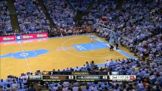 Texas @ #14 North Carolina (12/18/2013)