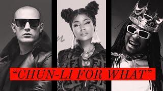 Nicki Minaj vs. DJ Snake & Lil Jon - Chun-Li for What (Live Mashup Remix Version)