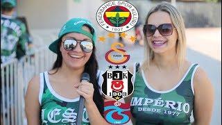 Brezilya'da En Çok Tanınan Türk Takımı Hangisi? ( Fenerbahçe-Galatasaray-Beşiktaş-Trabzonspor )