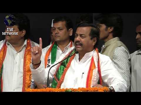 State Ncp Chief Sunil Tatkare Speaks at Karykarta Melava in Navi Mumbai