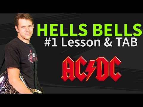 How To Play Hells Bells Guitar Lesson & TAB by ACDC