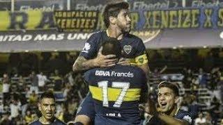 Boca Juniors vs Talleres 2 a 1 - Resumen extendido y Goles - Superliga 2018