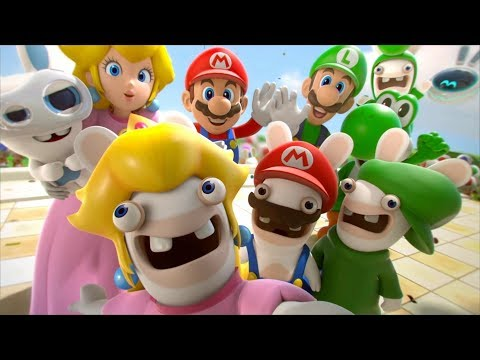 Mario + Rabbids Kingdom Battle - All Cutscenes Full Movie HD