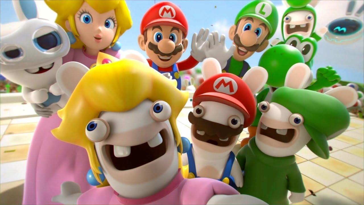 Mario + Rabbids Kingdom Battle - All Cutscenes Full Movie HD