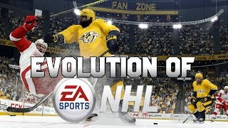 Graphical Evolution of NHL (1991-2019)
