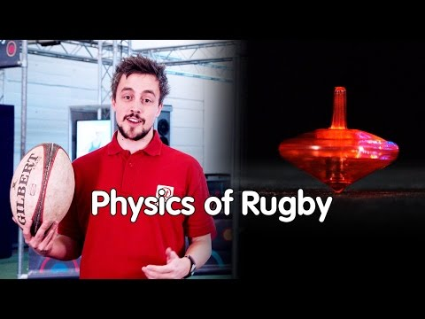 Why do you spin a rugby ball? | The Physics of Rugby | At-Bristol Science Centre