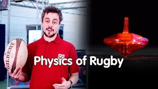 Why do you spin a rugby ball? | The Physics of Rugby | We The Curious