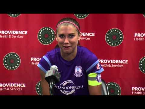 Alex Morgan talks about returning to Portland, playing for a new team and about Orlando's loss to th