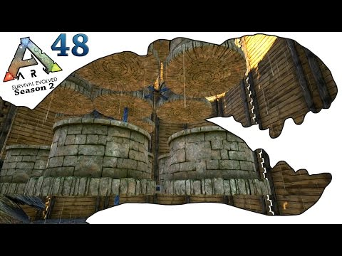 ARK Survival Evolved Gameplay - S2 Ep48 - Water Tower - Let's Play