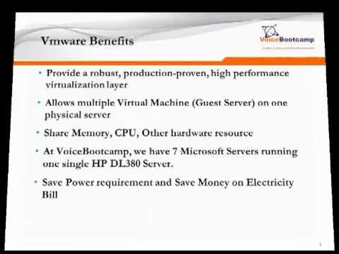 CCNP Voice Plus Module 3 Cisco UC Virtualization and Vmware