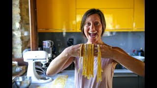 Making Pasta FROM SCRATCH in Italy!