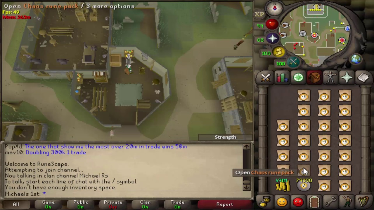 Buying Obsidian Armour from Store (Moneymaking method that only works  sometimes) [OSRS]