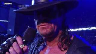 WWE Smackdown 4/3/11 Undertaker Return to Smackdown (New Theme)