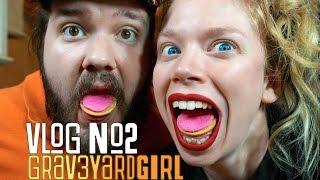 COOKIE TASTING, OOTDS, & ORBEEZ | VLOG #2 | GRAV3YARDGIRL
