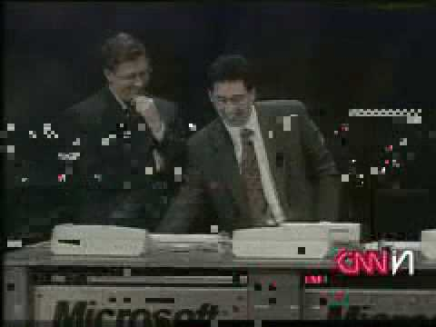 Windows 98 Blue screen of death