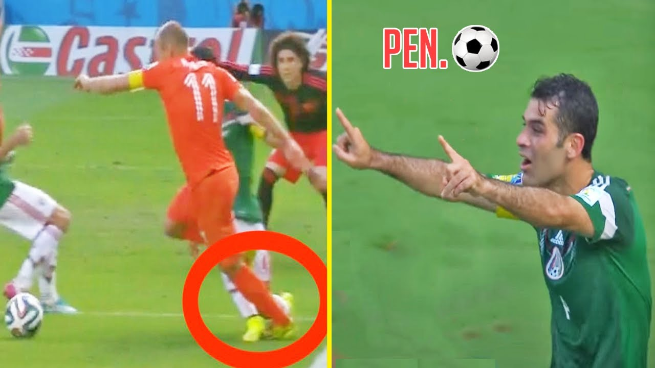 Stupid & Funny Dives in Football