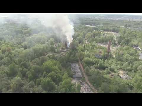 LIVE Пожар в Заволжском районе Твери