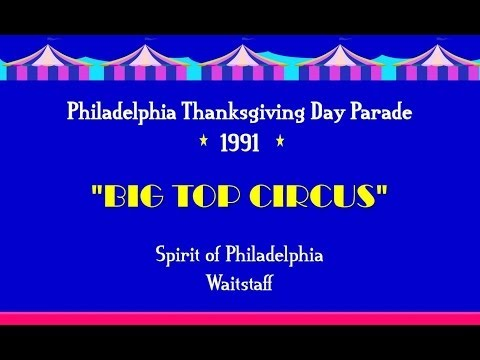 Spirit of Philadelphia Staff Perform for Philly Thanksgiving Day Parade 1991