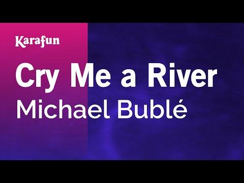 Karaoke Cry Me A River  Michael Bublé *
