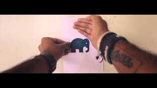Inkquisitive Illustration - Controlled Chaos (Kenya Tour Promo)