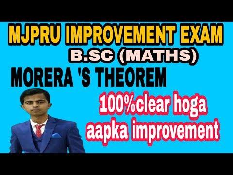 Complex Analysis - MORERA'S THEOREM PROOF IN HINDI #MATHSLOGY#