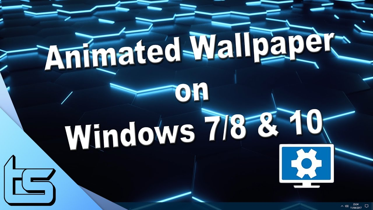Animated Windows 10 Background On Multiple Monitors Youtube