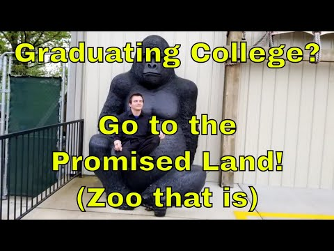 Graduating College?  Go to the Promised Land! (Zoo that is) - Sir Willow's Park Tales Ep 49