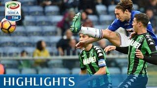 Sampdoria - Sassuolo - 3-2 - Highlights - Giornata 13 - Serie A TIM 2016/17