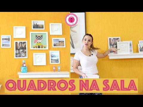 Decorando a parede da sala - Mundo de Luli - Luiza Marques
