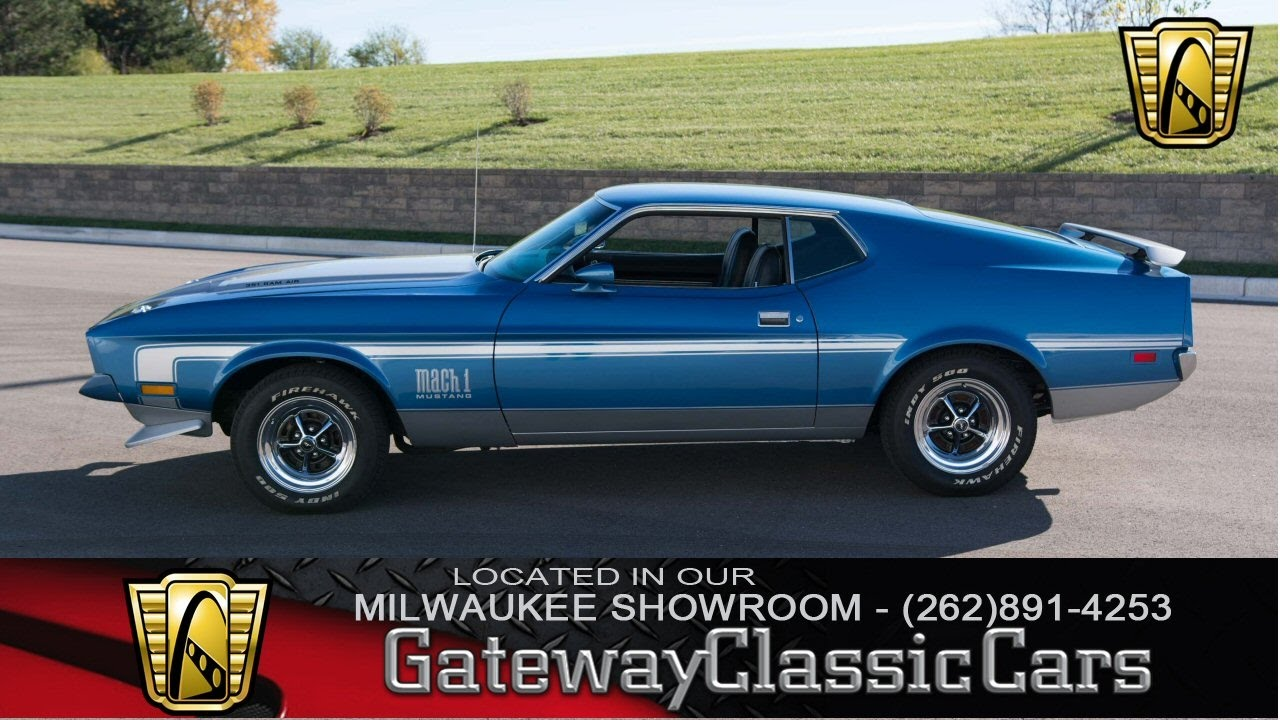 Now featured in our milwaukee showroom 1972 ford mustang mach 1