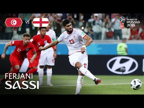 Ferjani SASSI Goal  - Tunisia v England - MATCH 14
