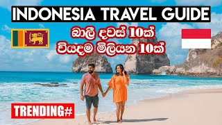 How to Travel Bali | Indonesia Travel Guide | Sinhala Travel Guide