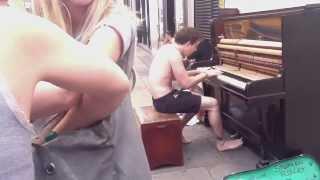 Уличный музыкант, Лондон(, 2013-08-29T16:46:15.000Z)