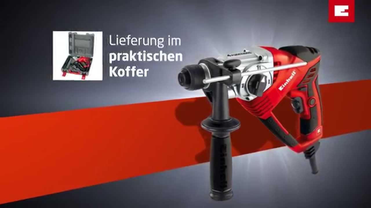 einhell rt-rh 20 bohrhammer - youtube