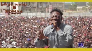 Mkali wenu original awaacha watu midomo wazi kwenye komaa concert 2017