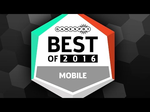 Top 5 Mobile Games - GameSpot Game Of The Year 2016