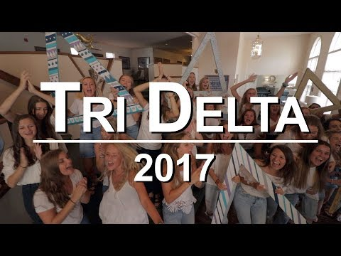 Tri Delta 2017 Rush Promo (Purdue University)