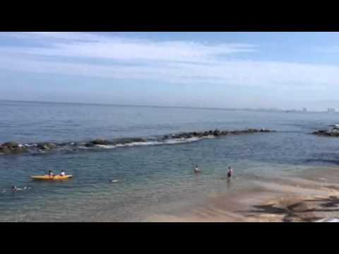 Nuestra playa privada en Costa Sur Puerto Vallarta
